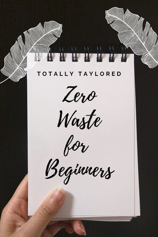 zero waste for beginners