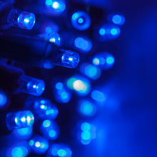 Load image into Gallery viewer, 35 count blue 5mm Christmas lights