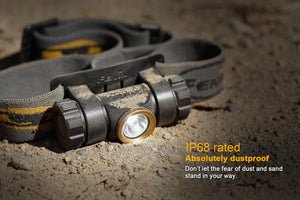 Fenix HL23 headlamp IP68
