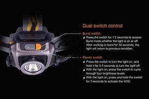 Fenix HP15 Ultimate switching control