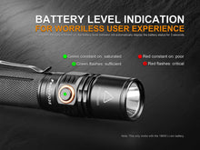 Load image into Gallery viewer, Fenix PD35 battery indicator