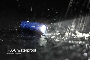 Fenix UC02 water proof flashlight