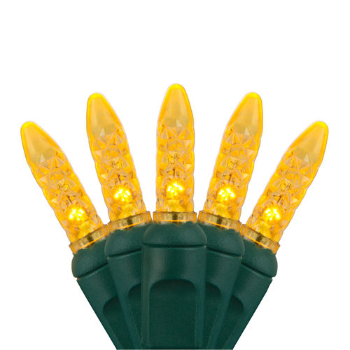 Yellow M5 LED Christmas lights