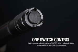 Fenix FD20 flashlight switch