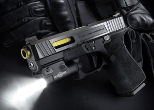 Surefire XC1 light beam pattern