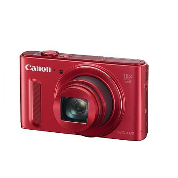 Canon PowerShot SX610 HS - Wi-Fi Enabled - Red