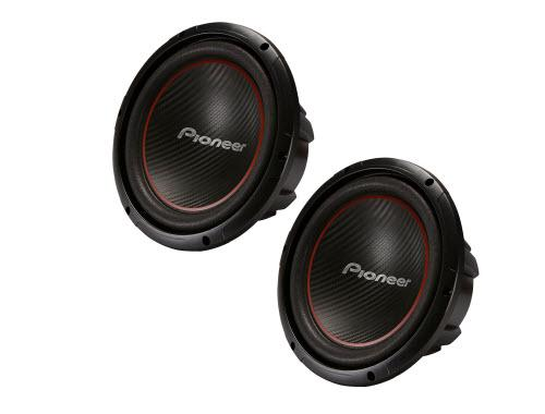 Pioneer TS-W304R 12 Inch 2 x 1300W Subwoofers, Set of 2