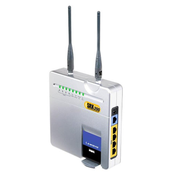 Cisco-Linksys Wireless-G Broadband Router with SRX200