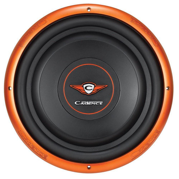 "Cadence SLW12S2 12"" Single 2-Ohm Slim Mount Series Subwoofer"