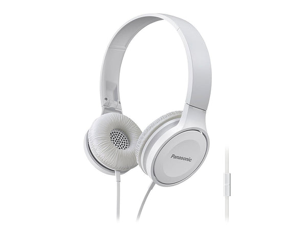 Panasonic Premium Sound On Ear Stereo Headphones RP-HF300M-K with Integrated Mic and Controller