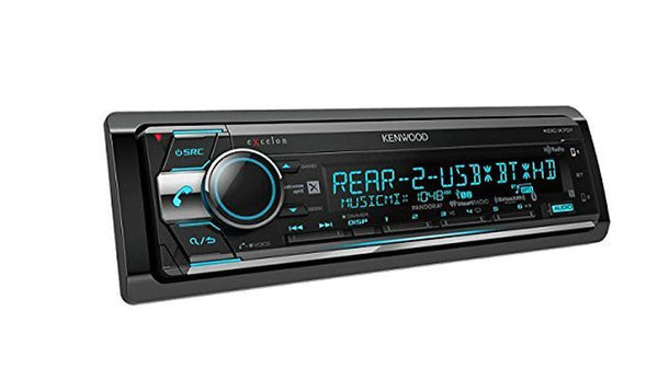 Kenwood Excelon KDC-X701 CD Receiver with Built-In Bluetooth & HD Radio
