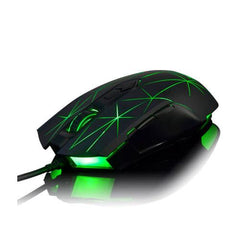 Ajazz Firstblood Watcher RGB Backlit USB Gaming Mouse - Star Black