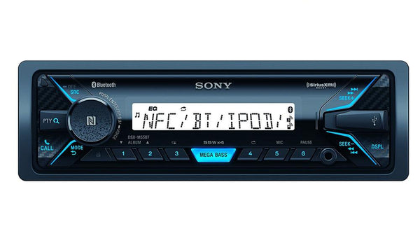 Sony DSXM55BT Marine Digital Media Receiver with Bluetooth