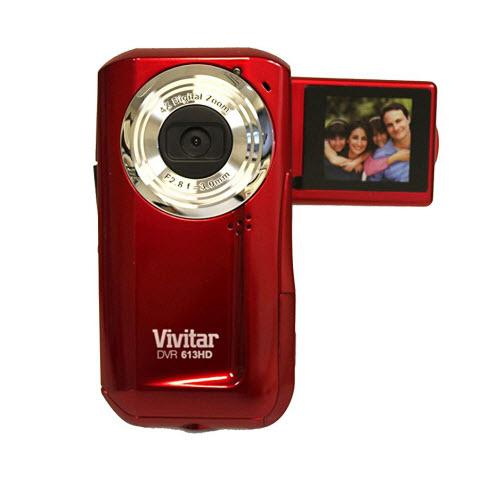 "Vivitar Digital Video Camera 1.8"" Screen"