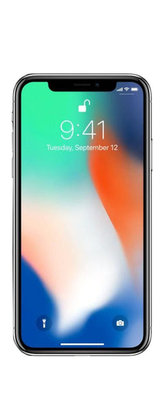 "Apple iPhone X, Fully Unlocked 5.8"", 64 GB - Silver"