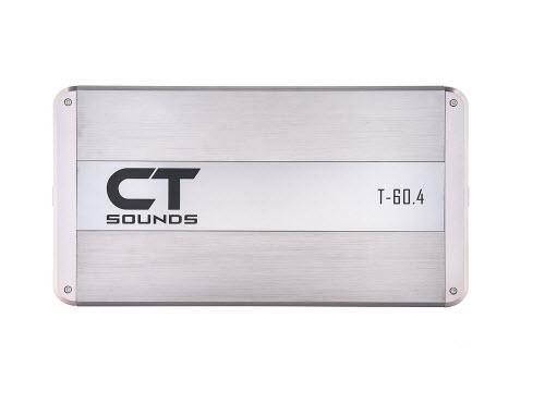 CT Sounds T-60.4 Class AB 4 Channel Car Amplifier 320w RMS Amp