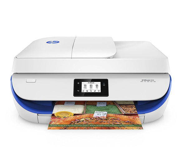 HP 4650 OfficeJet Wireless All-in-One Photo Printer - Blue