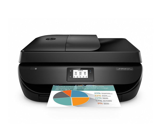 HP OfficeJet 4650 Wireless All-in-One Photo Printer with Instant Ink Bundle