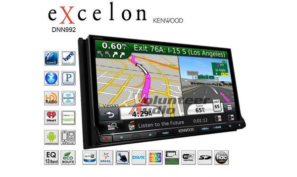 Kenwood eXcelon DNN992 6.95 Inch Touchscreen Navigation Receiver