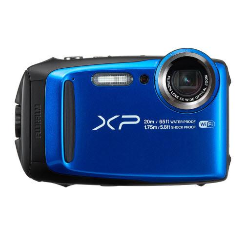 Fujifilm FinePix XP120 Waterproof Digital Camera - Blue