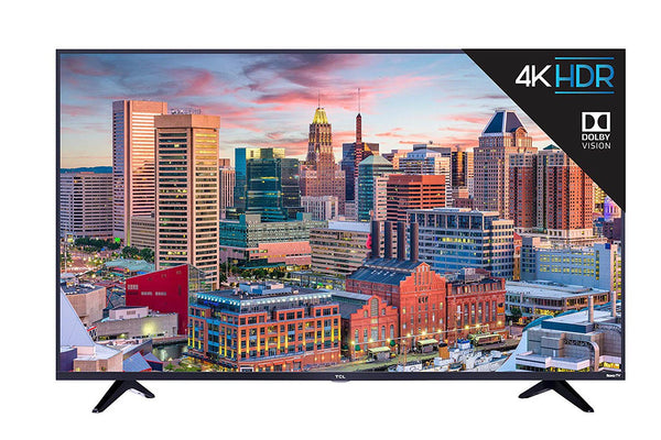 TCL 55S517 55-Inch 4K Ultra HD Roku Smart LED TV