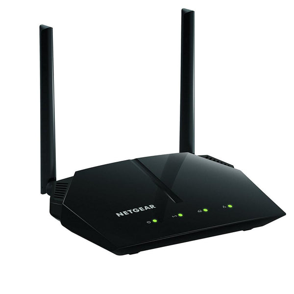 NETGEAR AC1200 Dual Band Smart WiFi Router, Fast Ethernet (R6120)