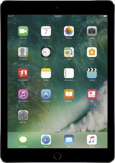 Apple - 12.9- Inch iPad Pro with Wi-Fi + Cellular - 128 GB (AT&T) - Space Gray