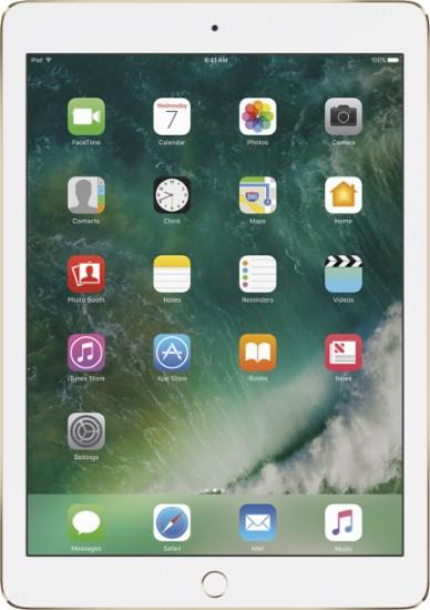 Apple - iPad Air 2 with Wi-Fi + Cellular - 64GB (AT&T) - Gold