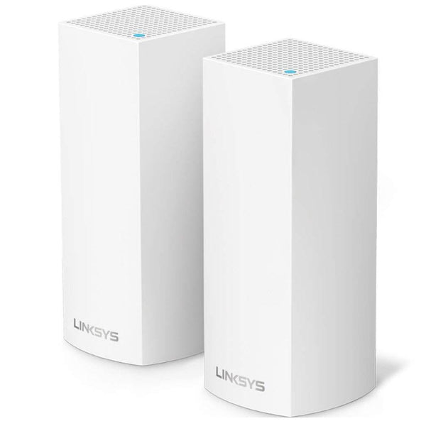 Linksys Velop AC2200 Tri-band Whole Home WiFi Intelligent Mesh System, 2-Pack