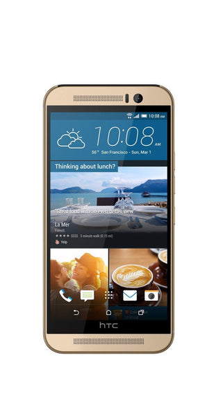 HTC One M9 32GB Unlocked GSM 4G LTE Smartphone w/ 20MP Camera - Amber Gold