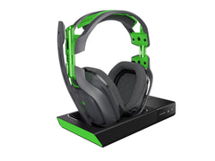 ASTRO Gaming - A50 Wireless Dolby Gaming Headset - Black/Green + A50 Noise-Isolating Mod Kit