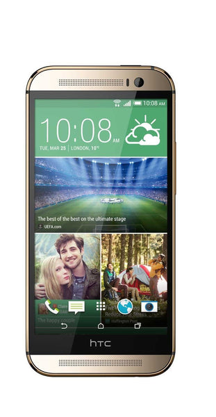 HTC One M8 Unlocked Cellphone, International, 16GB, Gold
