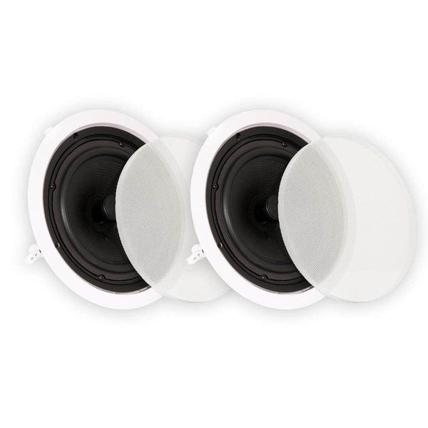 Theater Solutions TS50C In Ceiling Speakers Surround Sound Home Theater Pair