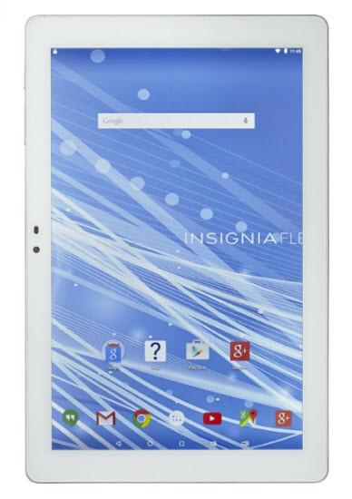 "Insignia™ - Flex - 10.1"" - 32GB - White/Silver"