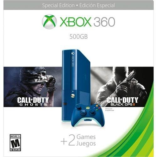 Xbox 360 - 500GB - Blue COD BO2 Bundle