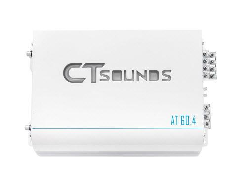 CT Sounds AT-60.4 Class AB 4 Channel Car Amplifier