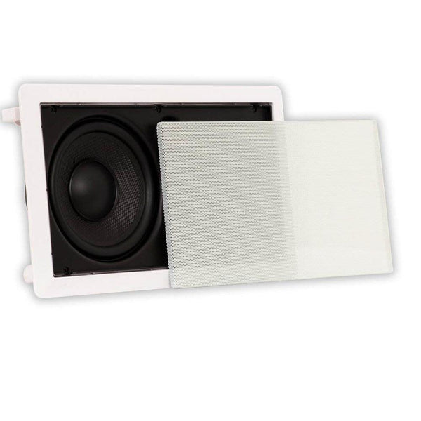 "Theater Solutions TSLCR65 in Wall 6.5"" Speaker Home Theater Compact Center Channel"