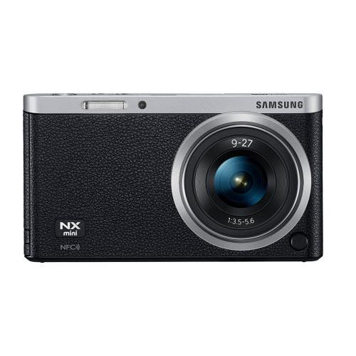 Samsung NX Mini 20.5MP CMOS Smart WiFi & NFC Mirrorless Digital Camera - Black