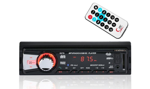 LESHP Car Stereo Receiver with Bluetooth,