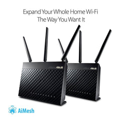 ASUS AC1900 Whole Home Dual-Band AiMesh Router (2PK)