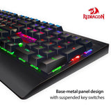 Redragon K557 KALA RGB LED Backlit Mechanical Gaming Keyboard