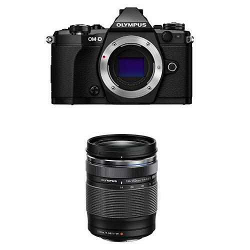 Olympus OM-D E-M5 Mark II Mirrorless Camera (Black) with 14-150mm II Lens