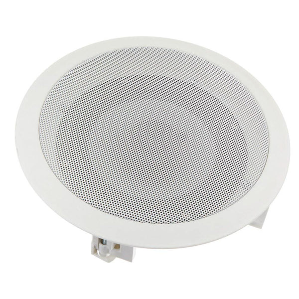 Acoustic Audio CS-ic62 6.5-Inch Round 2 Way Speaker (White)