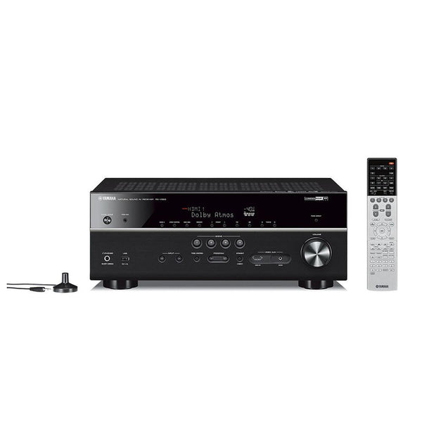 Yamaha RX-V683BL 7.2-Channel MusicCast AV Receiver with Bluetooth Wire and Plug