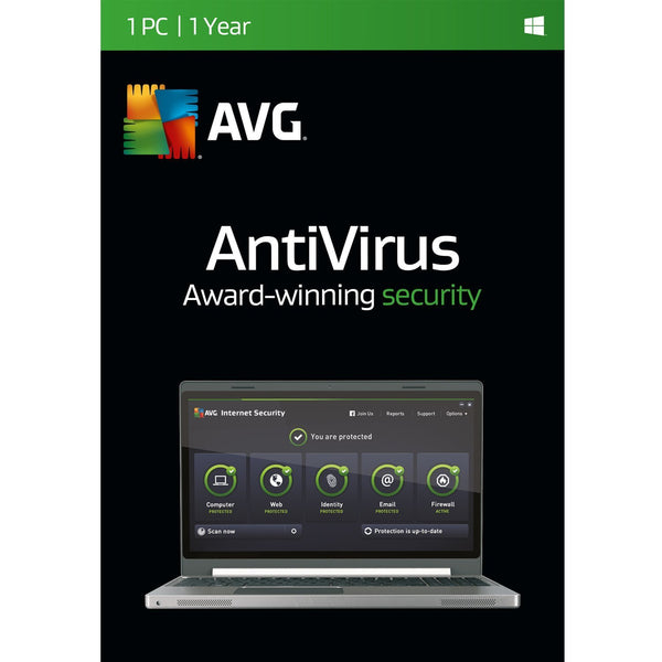AVG Antivirus | 1 PC | 1 Year