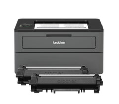 Brother Compact Monochrome Laser Printer, HLL2370DWXL Extended Print