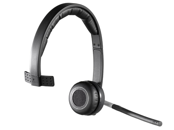 Logitech Wireless Headset Mono H820e (Business Product), DECT spectrum Single-Ear Headset