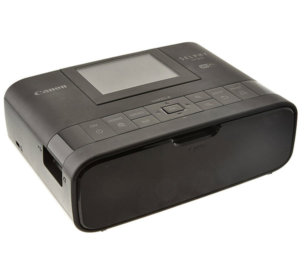 Canon SELPHY CP1300 Wireless Compact Photo Printer with AirPrint and Mopria Device Printing - Black