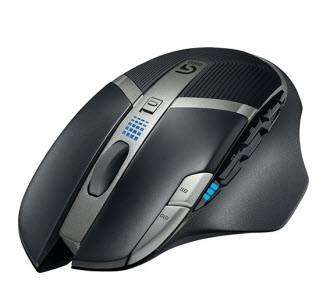 Logitech - G602 Wireless Gaming Mouse - Black