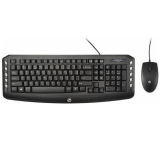 HP - C2600 Keyboard and Optical Mouse - Black